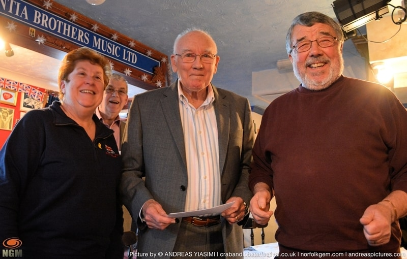 Crab and Lobster Festival cheque presentations picture Andreas Yiasimi
