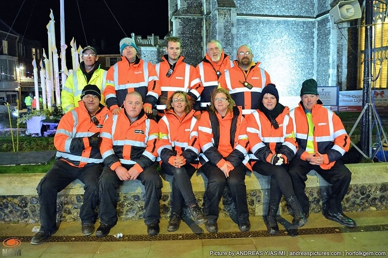 Cromer Carnival Volunteers. Picture by Andreas Yiasimi