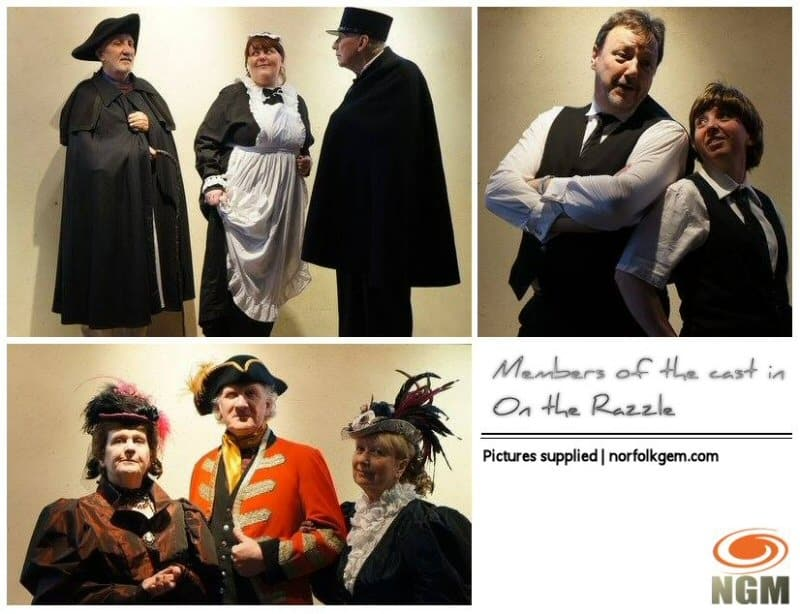 The Sheringham Players go on the Razzle