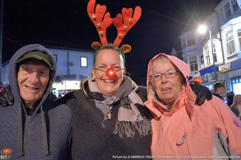 Sheringham Christmas lights switch on picture Andreas Yiasimi (5)