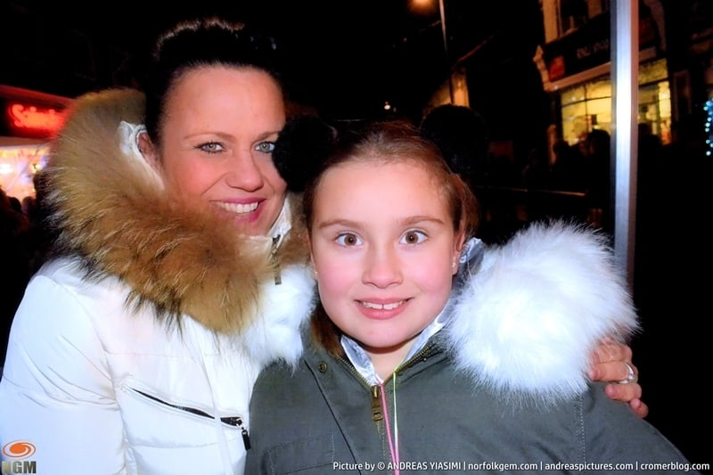 Sheringham Christmas lights switch on picture Andreas Yiasimi (54)