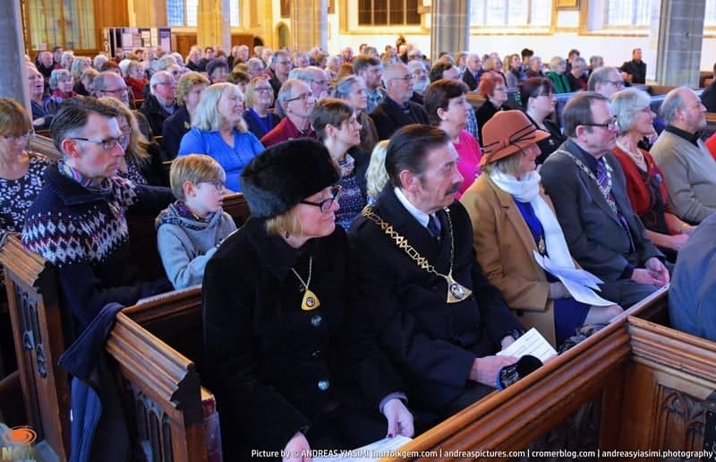 Cromer Mayor civic church service picture by Andreas Yiasimi (26)