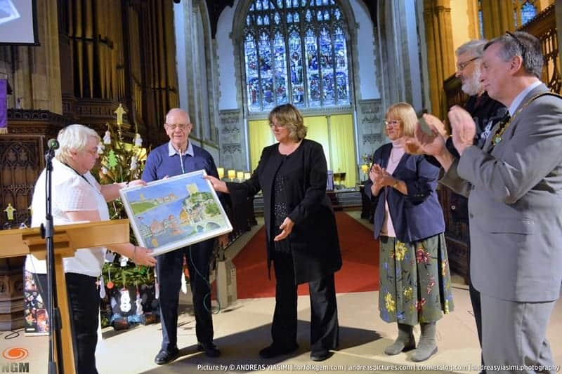 Cromer Mayor civic church service picture by Andreas Yiasimi (42)